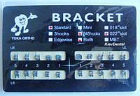 Металлические брекеты Roth 022 стандарт / полный набор 20 брекетов