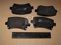 Колодка торм. AUDI/VW A3/A4/CADDY/TOURAN задн. (пр-во ABS) 37411