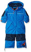 Зимний сдельный голубой комбинезон iXtreme для мальчика 12мес