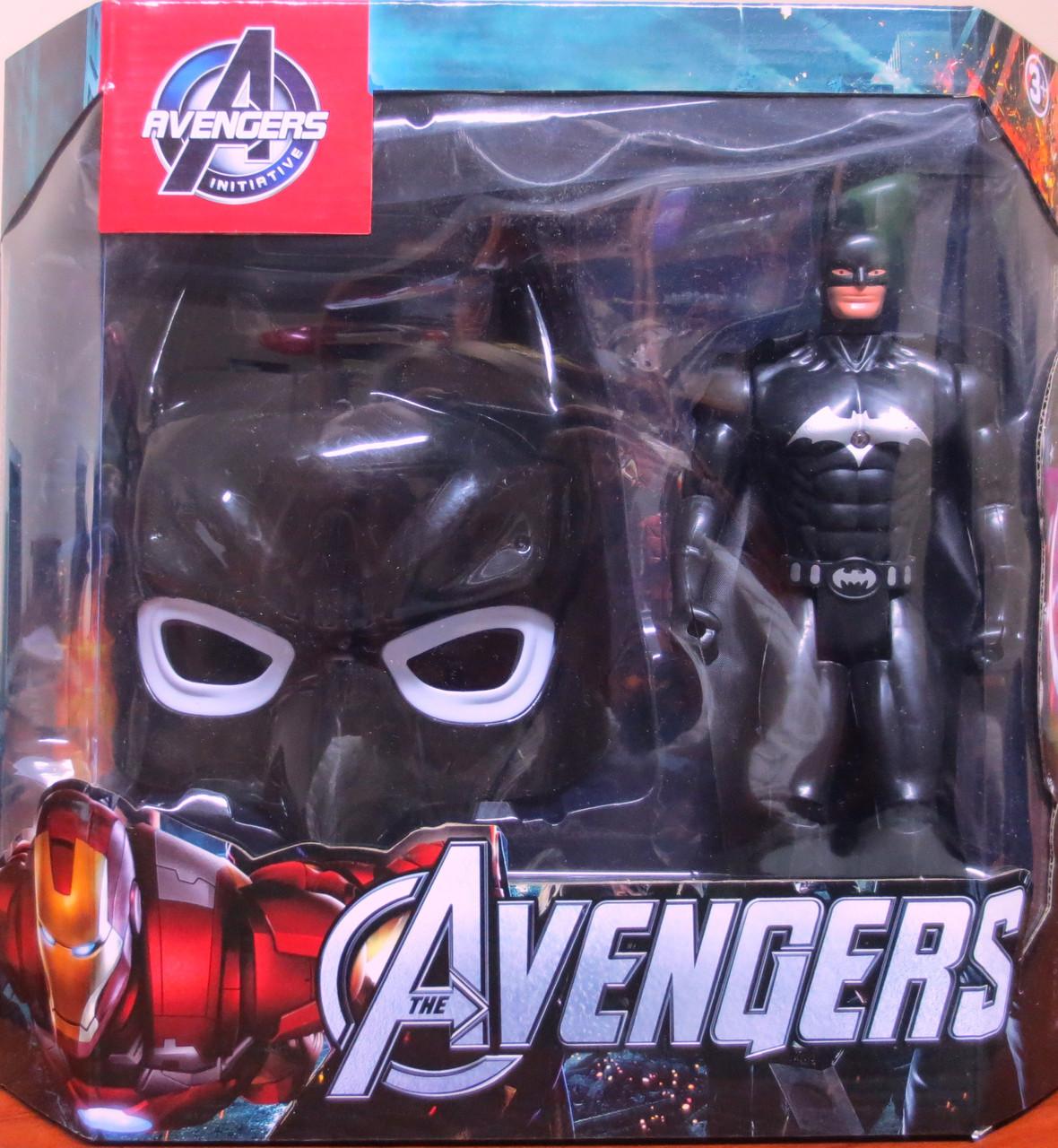 Набор супергероя Бэтмен (маска и фигурка)