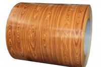 """Гладкий лист с покрытием """"Printech"""" (дерево) 0,4 мм"""