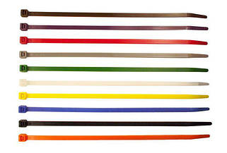 Кабельная стяжка Цветная