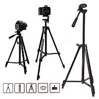 Штатив для фотоаппарата, проектора Zhuoyue ZY-3400 + Чехол, 50-135см