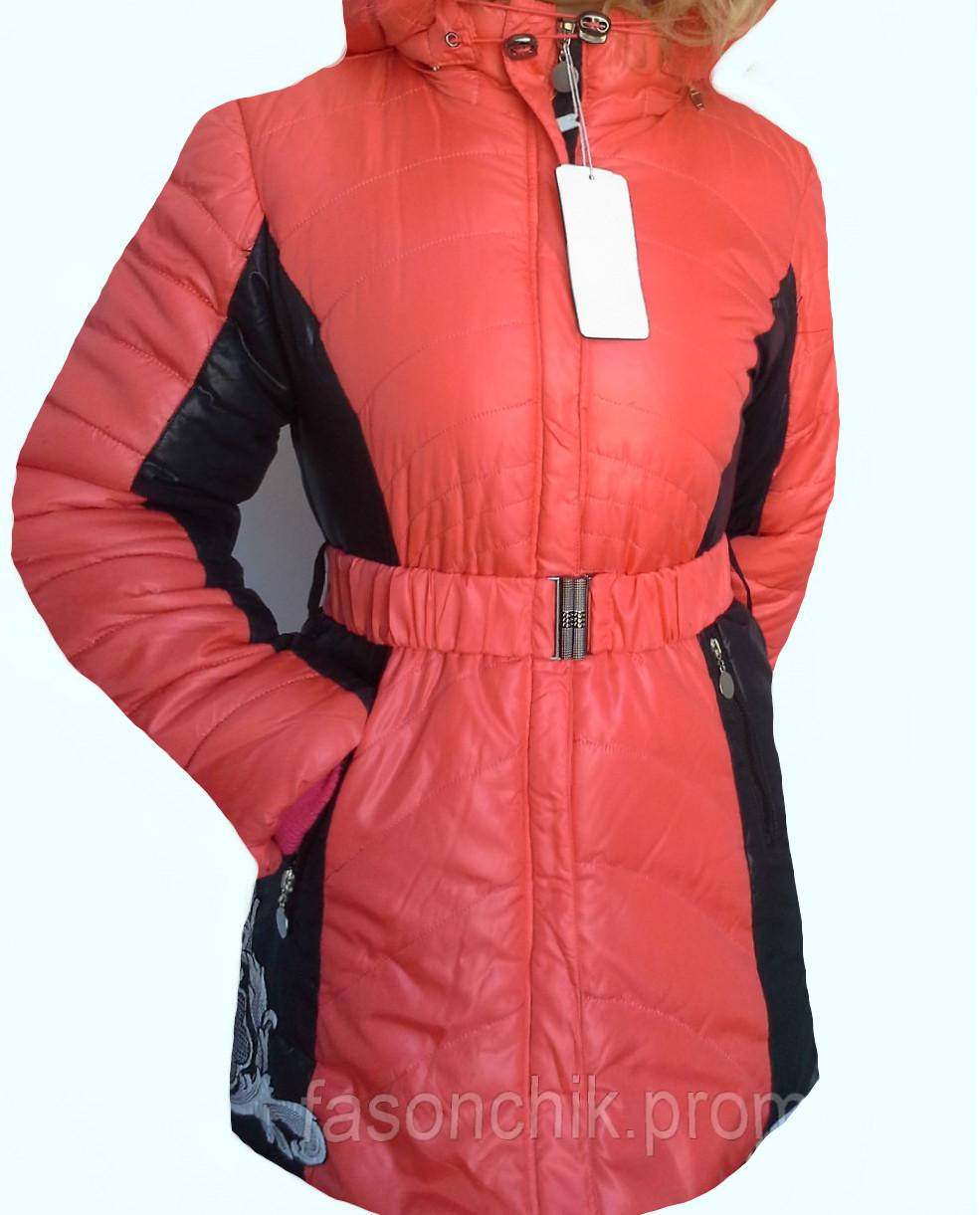 Удлиненная, подростковая куртка