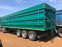 Изготовление бортовых кузовов для полуприцепов под зерновоз