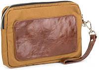 Надежный мужской кошелек в комбинации с натуральной кожей BBAG CHAMBER BRONZE CL-B82 янтарный