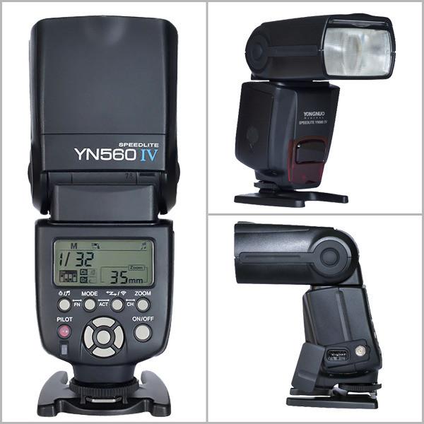Вспышка Yongnuo YN560 IV 2.4GHz Speedlite мануальная (YN-560IV)
