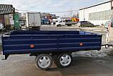 Прицеп Днепр двухосный усиленный с внутренними колесами, фото 4