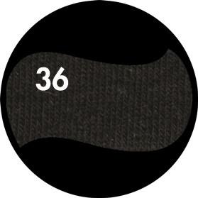 Цвет однотонный - Чёрный