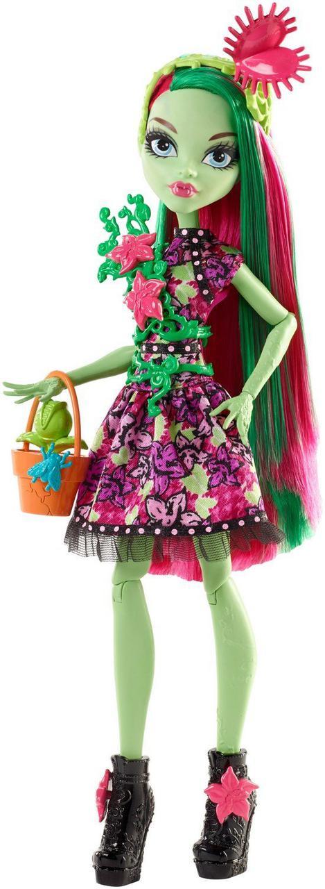 Кукла Монстер Хай Венера МакФлайтрап из серии Вечеринка монстров Monster High Venus McFlytrap Doll