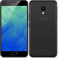"Смартфон Meizu M5c Black, 2/32Gb, 8/5Мп, 4 ядра, 2sim, экран 5"" IPS, 3000mAh, GPS, 4G, Android., фото 1"
