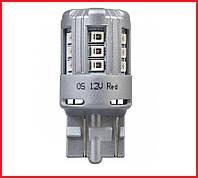 Лампа светодиодная Osram LED (W21/5W Red 12V 3W) комплект 2 шт
