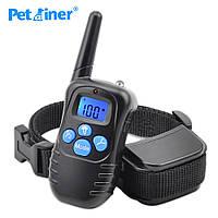 Аккумуляторный электронный ошейник для дрессировки собак Petrainer( влагозащищённый )