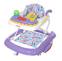 Детские ходунки CARRELLO Oceano CRL-9604  Purple 3 в 1 (ходунки, качалка, каталка) ***
