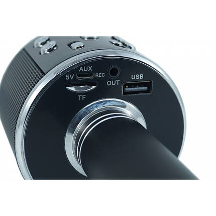 Беспроводной микрофон-караоке bluetooth WS-858 , фото 2