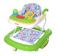 Детские ходунки CARRELLO Oceano CRL-9604 Green  3 в 1 (ходунки, качалка, каталка) ***