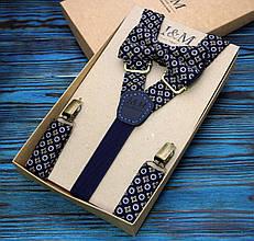Набор I&M Craft галстук-бабочка и подтяжки для брюк (030210)