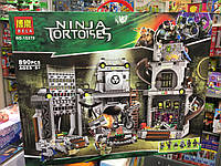 Детский конструктор Ninja Tortoises 890 деталей