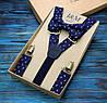 Набор I&M Craft галстук-бабочка и подтяжки для брюк (030212)