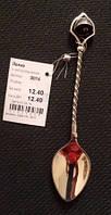 Ложка срібна Ложка серебрянная с колокольчиком 9014