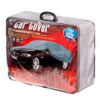 Тент, чехол для автомобиля Седан с подкладкой Vitol CC13402 ХХL Серый,  572х203х120 см