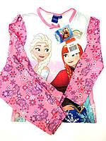 Пижамка розовая с Ельзой Франция р.104,110,128