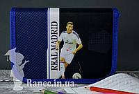 Пенал школьный на два клапана с наполнением Real Madrid 930398