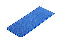 Коврик с подогревом 230мм х 530 мм (синий) Солрей