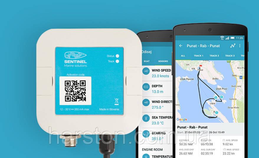GPS трекер/монитор для яхты