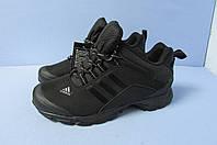 Мужские кроссовки Adidas Gore-tex climaproof (3005-3) черные код 0802А