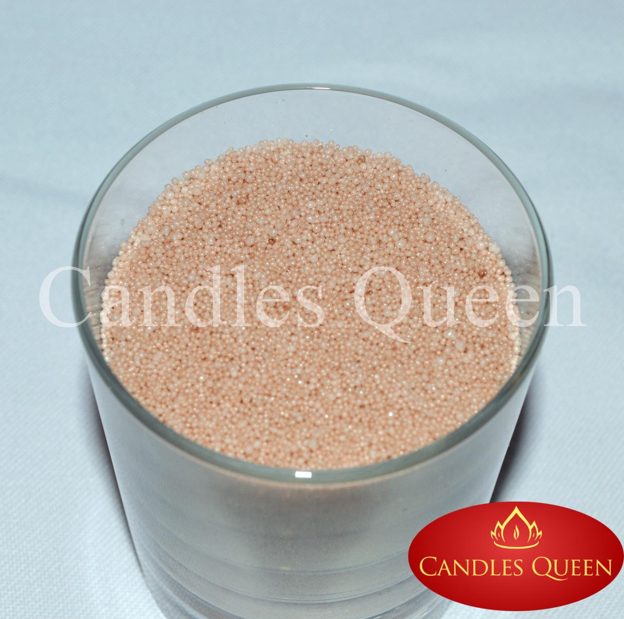 Стеарин цвет бежевый 1 кг. Для насыпных свечей и литых