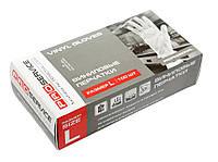Proservice Рукавички вінілові в боксі 100 шт. (50 пар) M/L