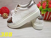 Криперы макквин с серебрянным носком, фото 1