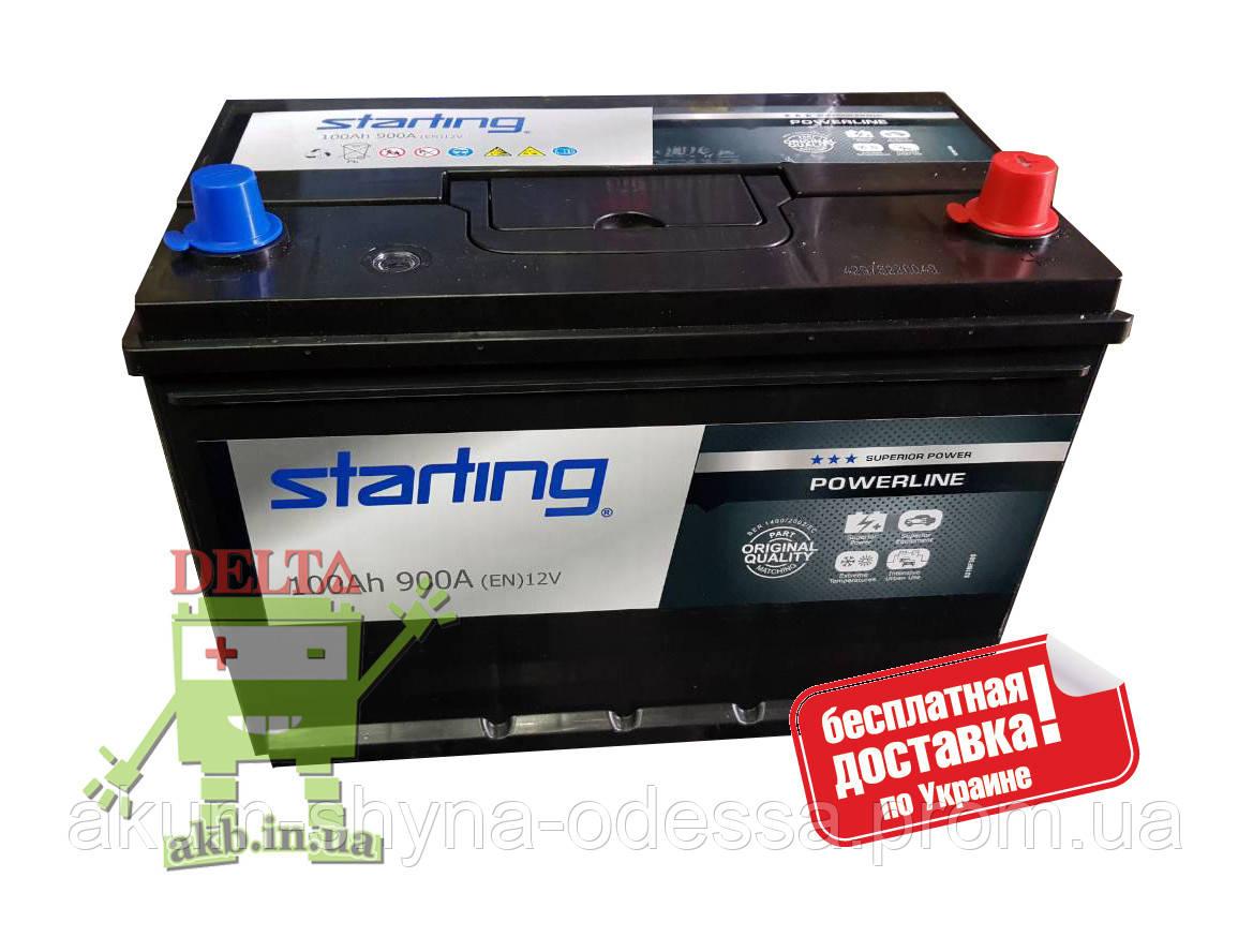 Аккумулятор Starting 100Ah 900A Asia R+