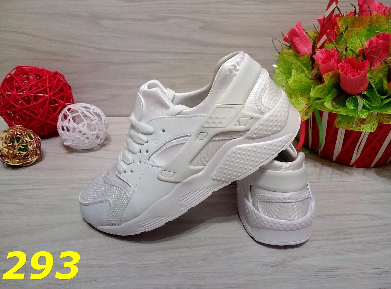 Кроссовки хуарачи белые