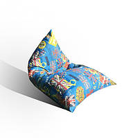 Кресло мешок Пирамида из мебельной ткани Катони Британия