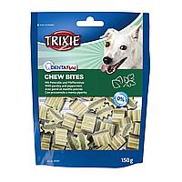 Лакомства для собак Trixie (Трикси) Denta Fun Chew Bites 150 г (петрушка и мята)