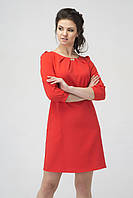 Платье короткое RB-9915  коралл