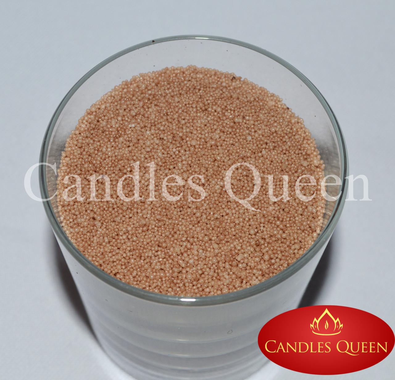 Стеарин цвет капучино 500г. Для создания насыпных свечей и литых