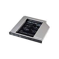 Адаптер для подключения HDD 2.5 '' в отсек привода ноутбука SATA3 Slim 9.5 мм (HDC-26) Grand - X (HDC-26)