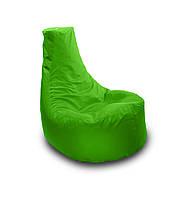 Салатовое бескаркасное кресло мешок Кайф из Оксфорда