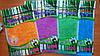 Бамбуковые салфетки цветные, 18×23см