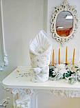 """Конверт на виписку з пологового будинку """"Королівський Білий"""" Зима, фото 5"""