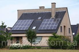 Комплект солнечной электростанции (Рсп = 500 Вт, Рн = 1050 Вт)