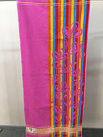 Полотенце махровое ТМ Речицкий текстиль, Лютики 67х150 см