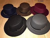 Шляпка канотье 0113(32)