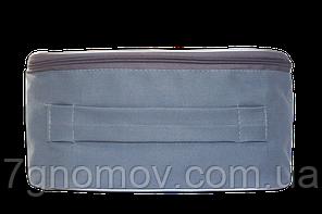 Органайзер двойной дорожный для белья ORGANIZE серый, фото 2
