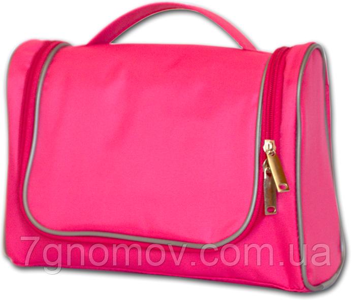Дорожный органайзер для косметики премиум качества ORGANIZE C025 розовый