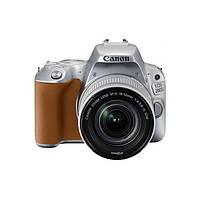 Фотоаппарат Canon EOS 200D kit (18-55mm) EF-S IS STM Silver Официальная гарантия (2256C006)