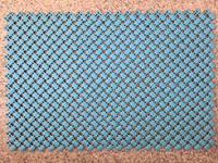 Коврик резиновый для душа 600х400 мм